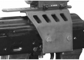 Крепление оптики на АК без ластохвоста Полтава - КРОН