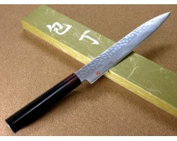 Iseya I-series VG-10 Damascus Slicer (Sashimi) 210mm